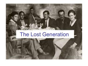 Kayıp Nesil ve Bu Devri Anlatan Yazarlar